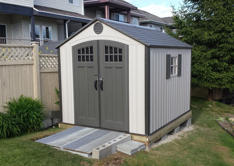 garden-shed-non-level-ground